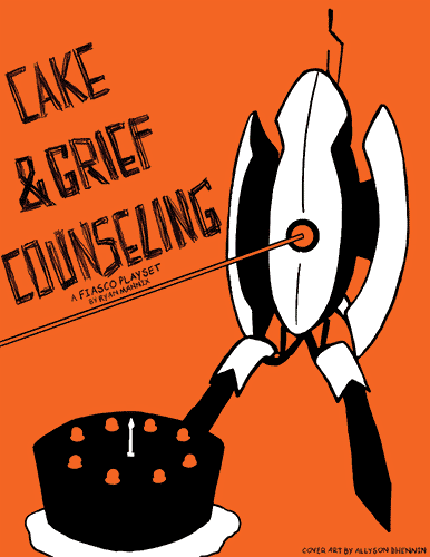 Cake and Grief Counseling: A Portal Fiasco Playset