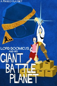 Lord Doomicus and his Giant Battle Planet